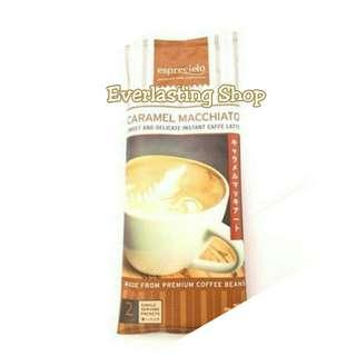 Esprecielo Caramel Macchiato Sweet and Delicate Instant Caffee Latte Kopi Coffee Allure Pouch Bag