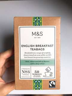 M & S English Breakfast Teabags