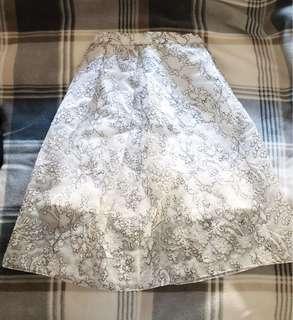Whistles Maddison Full Lace Midi Skirt