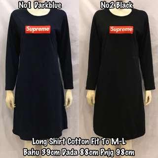 SUPREME LONG DRESS (READY STOCK)