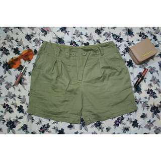 Hotpants zara army