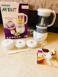 Brand new 4 in 1 healthy baby food maker