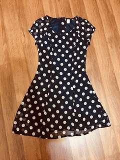H&M Polka dot Dress!