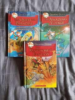 Geronimo Stilton Books for SALE