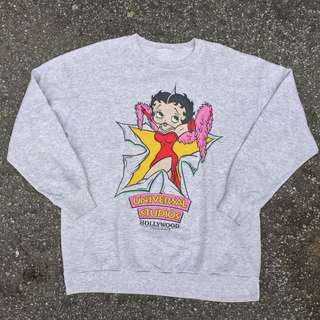 Vintage Betty Boop Sweatshirt 1995