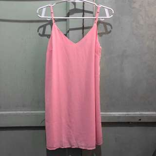 Cotton On dress (neon pink)