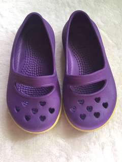 Crocs Purple Slip ons