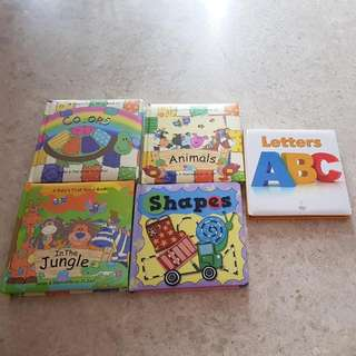 (BN) Toddler educational books