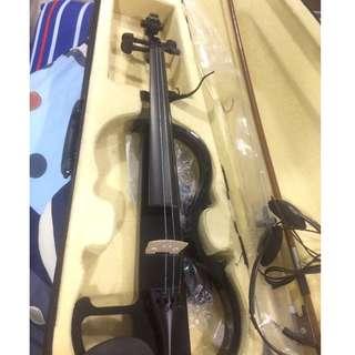 Brand new open box electronic violin