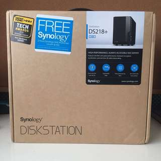 DiskStation DS218+ BNIB
