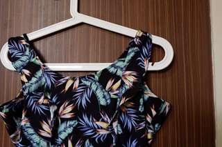 H&M floral playsuit