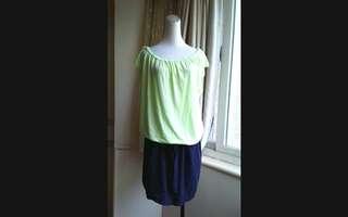 🚚 GAP 雙色 寬鬆舒適棉質連衣裙
