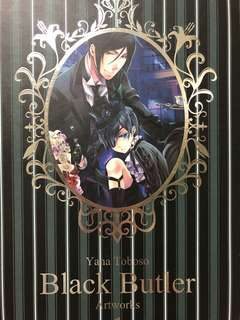 Black Butler Artwork 1 by Yana Toboso