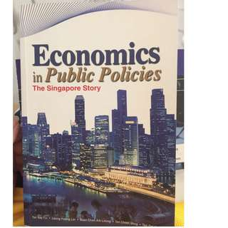 Economics in Public policies (The singapore story)