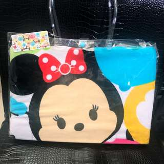 香港迪士尼-正貨大浴巾(附提袋)_現貨