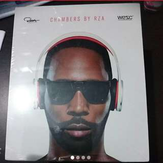 Headphones Chambers By RZA In Red And White