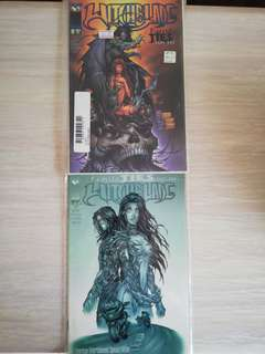 Witchblade #18 Family Ties Part 1. Variant covers.