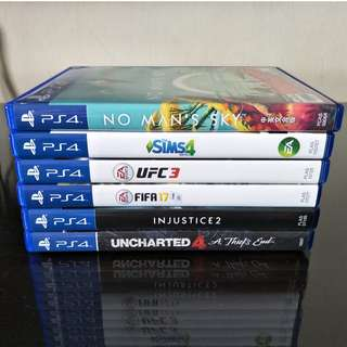 PlayStation Ps4 Used Games