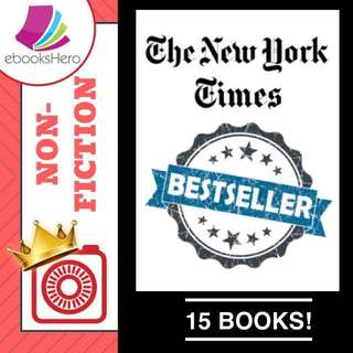 10 June 2018 - Non-Fiction New York Times Best Sellers