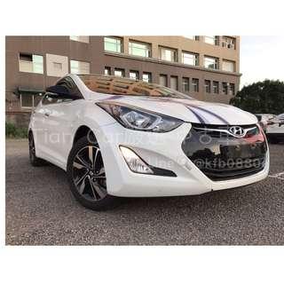 現代 ELANTRA 1.8cc//全額貸 低利率 低月付 歡迎預約賞車👏