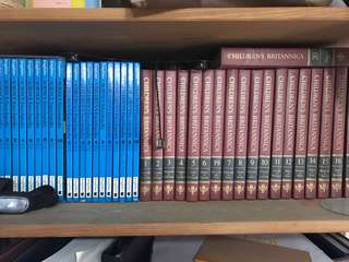 Complete set of Children's Britannica and Encyclopedia