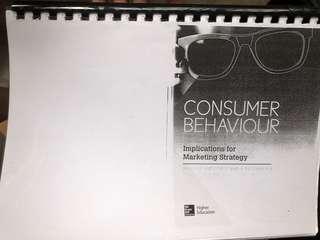 Consumer Behaviour textbook