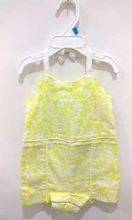 Jumpsuit- Yellow
