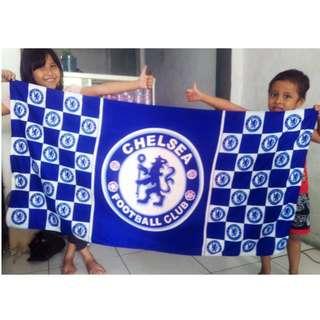 Handuk Karakter Bola Chelsea