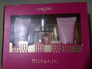 Lancome Miracle Perfume Set - 30ml