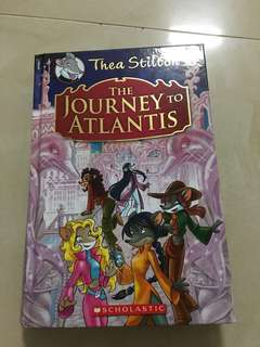 Thea Stilton ( The Journey to the Atlantis