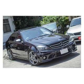 2009 BENZ C63 AMG 不用百萬 即可擁有!