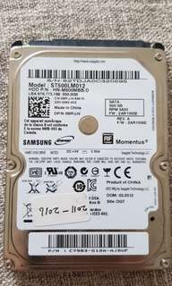Seagate 500GB HDD