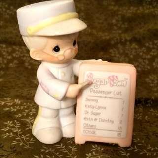 "Precious Moments 陶瓷公仔 ""Sugar Town Sam Conductor""  150169"