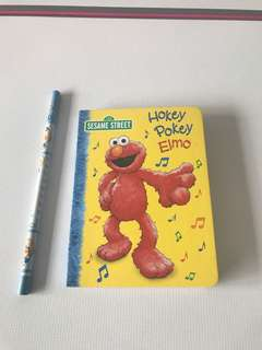 Brand new Sesame Street elmo board book