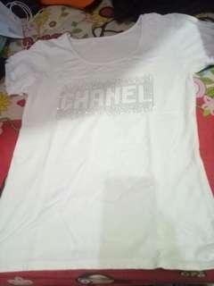 Chanel white shirt