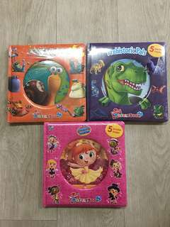 My First Puzzle Books set