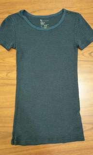 藍黑條紋居家服