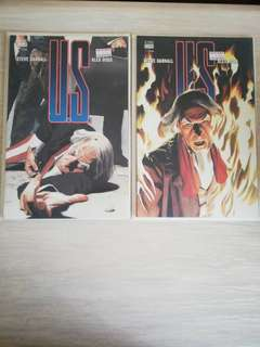 U.S. #1 & 2. (Vertigo) by Alex Ross