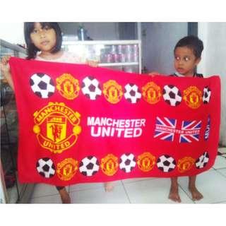 Handuk Karakter Bola Manchester United / MU