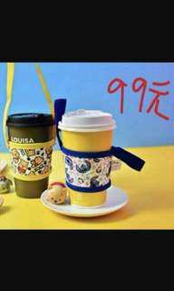 史迪奇 7-11 環保 杯套