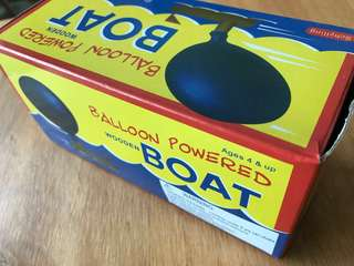 Schylling Balloon Powered Boat Toy