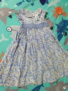 Rare editions Light blue floral dress