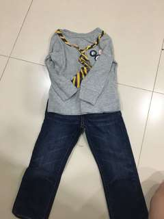 Baby gap boy set