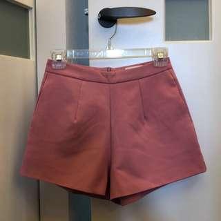 🚚 Pazzo粉色西裝短褲 二手