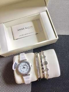Anne Klein Swarovski Crystal Set💕