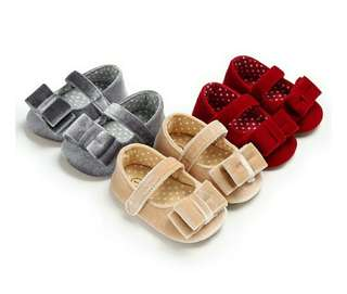 🍀Baby Girl Moccasin Soft Sole Non-slip Shoes🍀