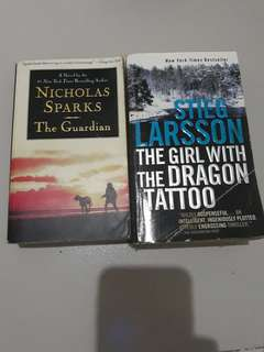 The Guardian and The Girl with a Dragon Tattoo