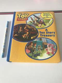Toy story board book