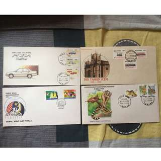 First Day Cover 1985(4 Set)