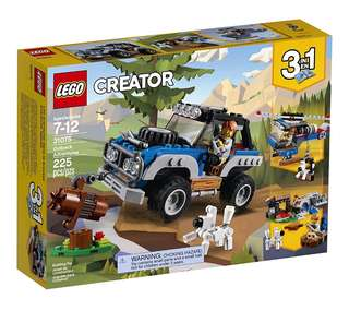 Lego Creator 3 in 1 Outback Adventures 31075